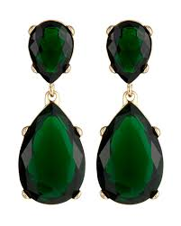 green drop earrings kenneth green drop earrings