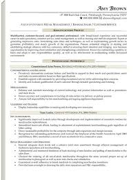 retail manager cv template uk