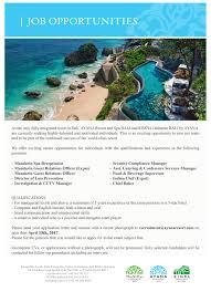 Interpersonal Skills List Resume Ayana Resort And Spa Bali Linkedin