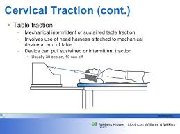 what is a traction table spinal traction knight draper 2008