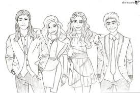 94 coloring pages of disney descendants phone coloring