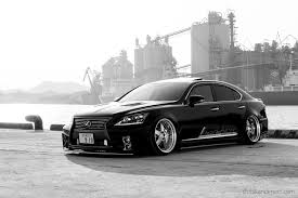 bagged ls460 lexus ls460 on lowenhart canvells stance