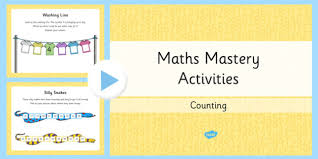 1 maths mastery counting powerpoint