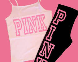 pink clothing secret pink clothes etsy