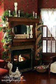 fireplace minimalist fireplace christmas decoration ideas for
