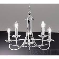 franklite carousel chrome fl2146 5 5 light chrome chandelier new