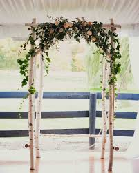 wedding arch grapevine birch and greenery wedding arch wedding wedding