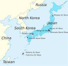 East China Sea Map Submarine Matters Japan U0027s Submarine Deployment Areas Straits And