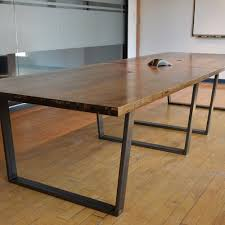 Live Edge Boardroom Table Boardroom Tables Son Of A Woodcutter