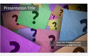 questions powerpoint template 5112 free powerpoint questions