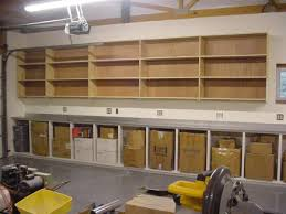 garage grey wall paint as garage storage design with floating full size of garage garage storage shelves with shelved wooden materials design ideas for modern garage