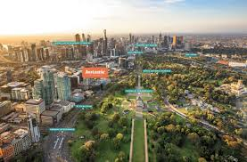 Royal Botanical Gardens Melbourne Map Botanic Melbourne Luxury Apartments 25 Coventry