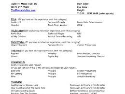 model resume sample sample model resume resume models in ms word