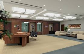 modern ceo office interior design wood accents old new