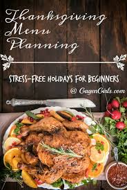 thanksgiving menu planning stress free holidays for beginners