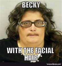 Facial Meme - becky with the good hair meme funny or offensive