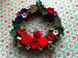 52 best crochet wreaths images on crochet wreath