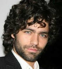 69 best curly hairstyles for men images on pinterest