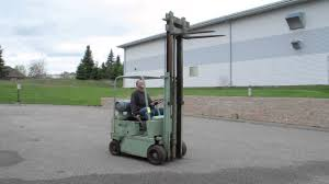 lot 84 yale forklift youtube
