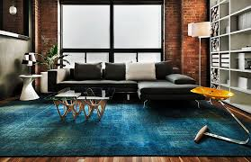 Living Room With Area Rug by 100 Brick Wall Living Rooms That Inspire Your Design Creativity