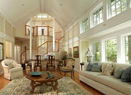Living Room Design With Vaulted Ceilings  Fresh Design Pedia - Colonial living room design