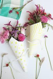 Bouquet Diy Diy Watercolor Flower Bouquet Wraps Julep