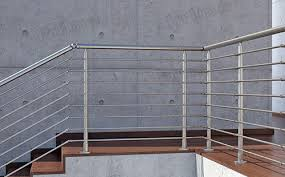 Stainless Steel Handrails Stainless Steel Handrail Tempered Glass Railing Glass Railing