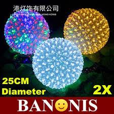 cheap 200 led cherry balls diameter 25cm festive