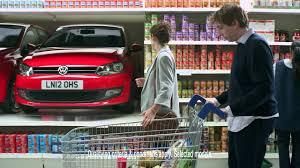 lexus lc advert uk volkswagen value tv ad u0027supermarket u0027 ridgeway volkswagen ad