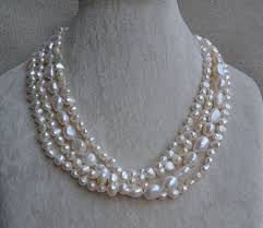 pearls necklace real images Best 25 real pearl necklace ideas freshwater pearl jpg