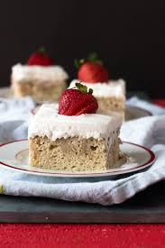 vegan tres leches cake thyme u0026 love