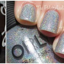 find more nail polish orly mirrorball holographic discontinued
