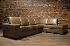 Leather Sofa Furnitures Classy Full Grain Leather Sofa For Luxury Living Room
