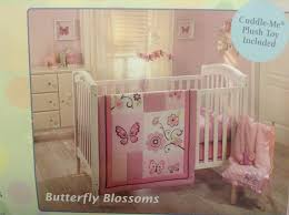 Butterfly Nursery Bedding Set by Amazon Com Little Bedding By Nojo Butterfly Blossoms 4pc Crib