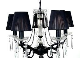 Small Black Chandelier Black Chandelier Lamp Shades Cocorich Org