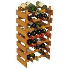 oak wine racks and bottle holders ebay