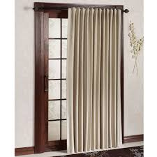 patio ideas patio door curtain panel with white outswing door and