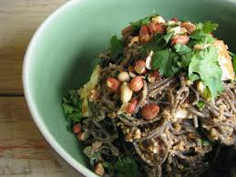 peanut tofu and coriander soba noodle salad recipe u2013 my darling