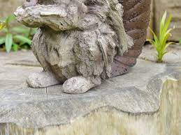 wildlife wood effect garden ornaments statues ebay