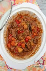 slow cooker beef caldereta kalderetang baka jasmine rice slow