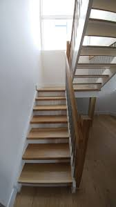 oak staircase with iron spindles wooden stairs cost painted
