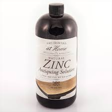 zinc antiquing solution shop
