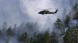 National Wildfire Activity by National Guard Soldiers And Airmen Helping Douse Wildfires In