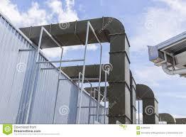 Air Ventilator Price Supermarket Large Air Ventilation System Air Pipe Stock Photo