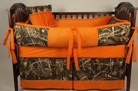Orange Camo Bed Set Max 4 Hd Custom Made Baby Crib Bedding Camo With Orange