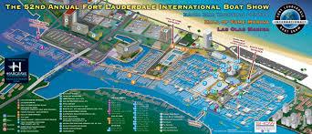 map of ft lauderdale 2011 fort lauderdale international boat map transit images