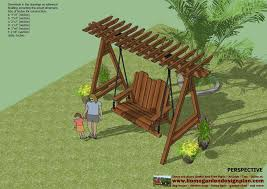 Swing Arbor Plans 16 Best Outdoors Images On Pinterest Garden Swings Outdoor