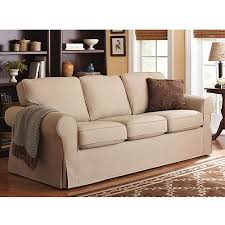 Slipcover For Leather Sofa by Better Homes And Gardens Slip Cover Sofa Multiple Colors