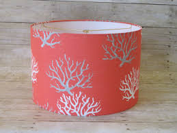 colorful l shades epic coral colored l shade 96 in home goods l shades with