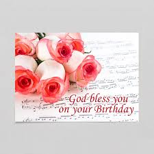 product details birthday card roses christian greeting